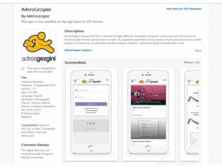 AdresGezgini-Blog-Uygulaması